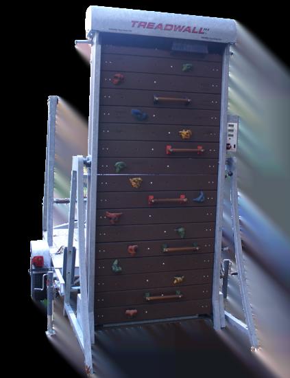 Portable, towable, Rotating climbing walls, Climbing simulators, Youth climbing, Endless climbing wall, climb station