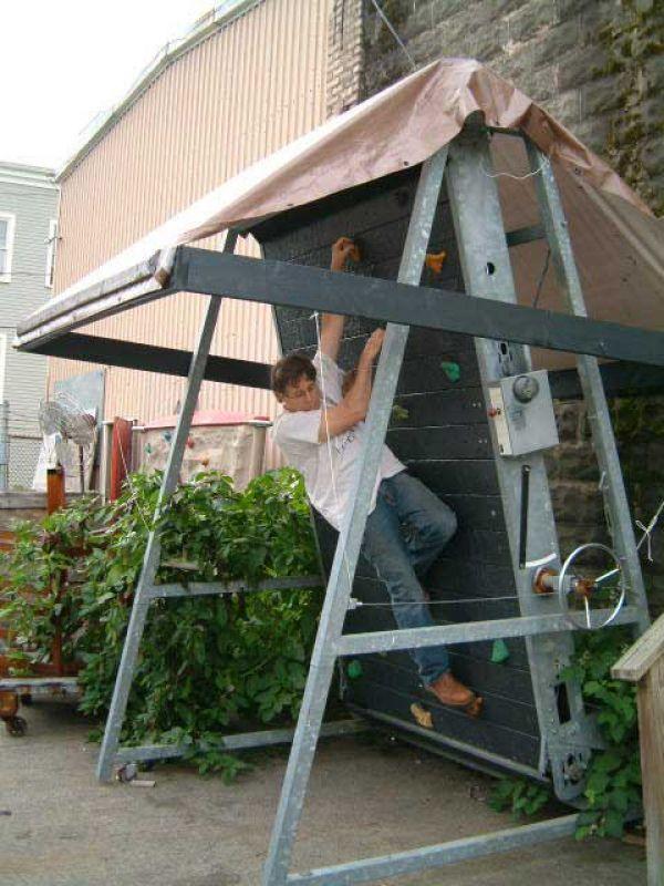 Kore, Rotating climbing walls, Climbing walls