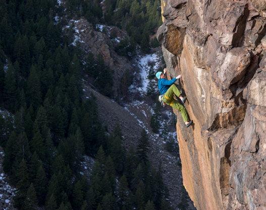Josh Wharton, climbing