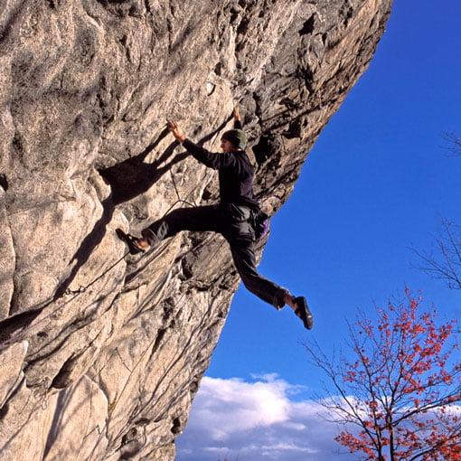 Dana Shagg, climbing